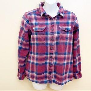 Patagonia Plaid Button Down Shirt Size 6